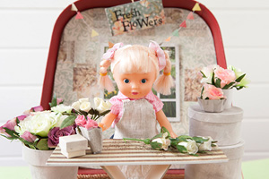 ymal suitcase dollhouse
