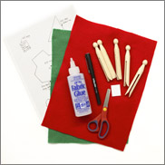 christmas elves materials