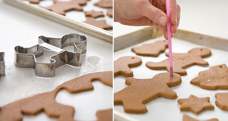 Create your own cinnamon salt dough decorations - Tara Dennis