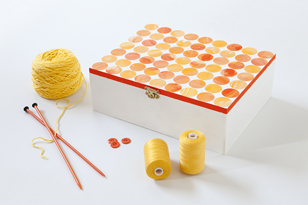 Tara Dennis craft circle box - make Mum a treasure box