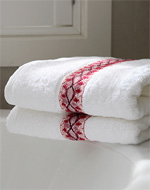 see how to make boutique bath towels