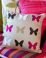 see how to make these no sew butterfly accessories for your home