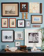 see how to create a gallery wall