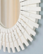 See how to make this retro style peggy mirror