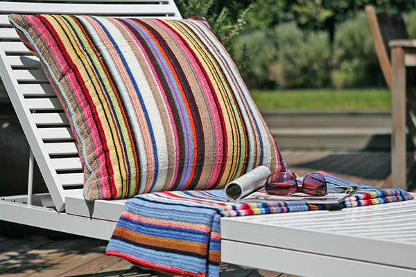 beach towel cushion