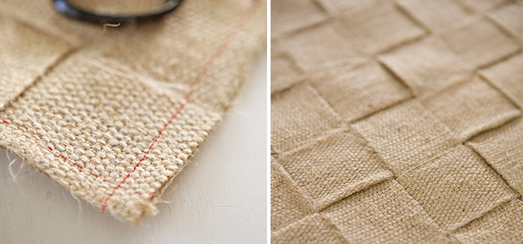 DIY Jute table runner - Tara Dennis