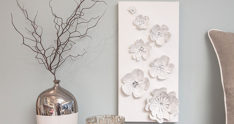 Paper Flower Wall Art Wall Art Create